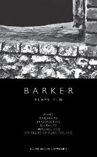 Cover Howard Barker: Plays Ten