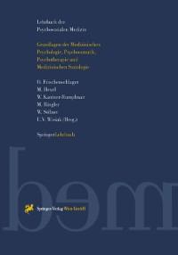 Cover Lehrbuch der Psychosozialen Medizin