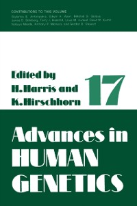 Cover Advances in Human Genetics 1