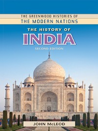 Cover The History of India