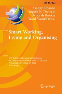 Cover Smart Working, Living and Organising