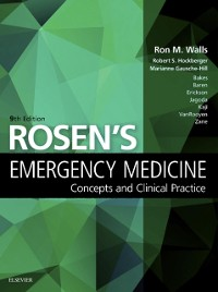Cover Rosen's Emergency Medicine - Concepts and Clinical Practice E-Book