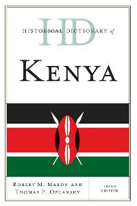Cover Historical Dictionary of Kenya