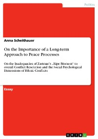 Cover On the Importance of a Long-term Approach to Peace Processes