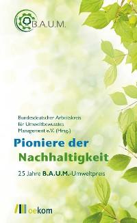 Cover Pioniere der Nachhaltigkeit