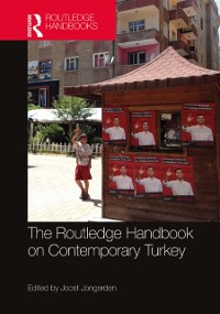 Cover Routledge Handbook on Contemporary Turkey