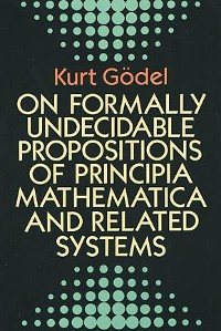 Cover On Formally Undecidable Propositions of Principia Mathematica and Related Systems