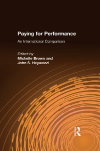 Cover Paying for Performance: An International Comparison