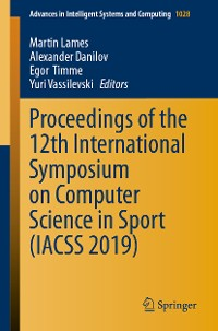 Cover Proceedings of the 12th International Symposium on Computer Science in Sport (IACSS 2019)