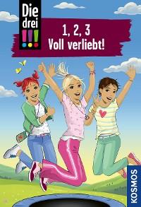 Cover Die drei !!!, 1, 2, 3 Voll Verliebt! (drei Ausrufezeichen)