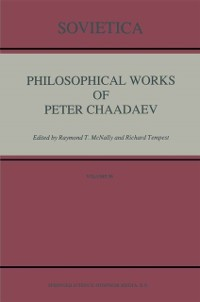 Cover Philosophical Works of Peter Chaadaev