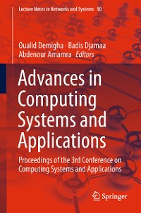 Cover Advances in Computing Systems and Applications