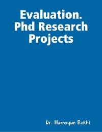 Cover Evaluation. Phd Research Projects