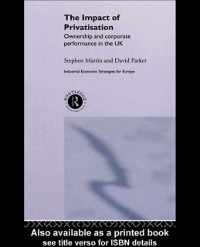 Cover Impact of Privatization