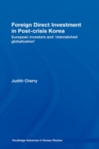 Cover Foreign Direct Investment in Post-Crisis Korea
