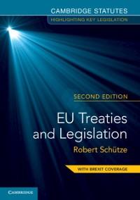 Cover EU Treaties and Legislation