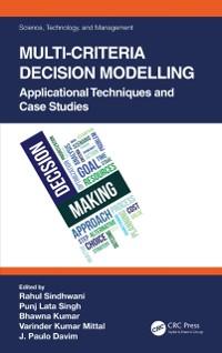Cover Multi-Criteria Decision Modelling