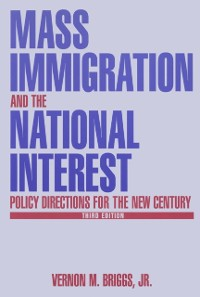 Cover Mass Immigration and the National Interest
