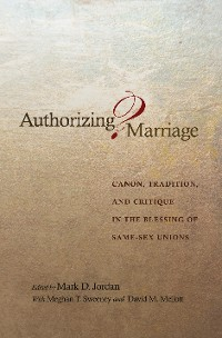 Cover Authorizing Marriage?