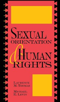 Cover Sexual Orientation and Human Rights