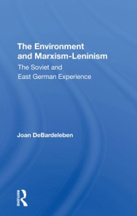 Cover Environment And Marxism-leninism