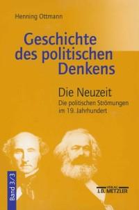 Cover Geschichte des politischen Denkens