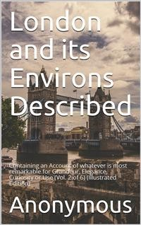 Cover London and its Environs Described