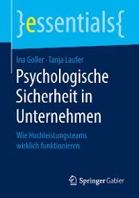 Cover Psychologische Sicherheit in Unternehmen