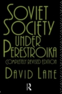 Cover Soviet Society Under Perestroika