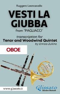 Cover (Oboe part) Vesti la giubba - Tenor & Woodwind Quintet