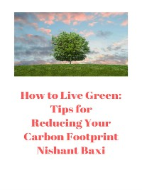 Cover How to Live Green
