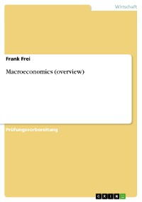 Cover Macroeconomics (overview)