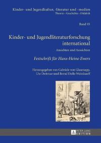 Cover Kinder- und Jugendliteraturforschung international