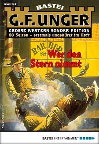 Cover G. F. Unger Sonder-Edition 164 - Western