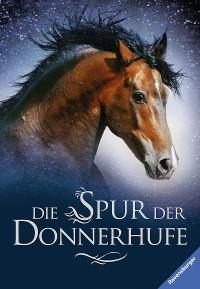 Cover Die Spur der Donnerhufe, Band 1-3: Flammenschlucht, Sternenfeuer, Nebelberge