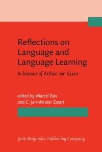 Cover Reflections on Language and Language Learning
