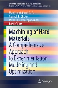Cover Machining of Hard Materials