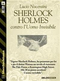 Cover Sherlock Holmes contro l'uomo invisibile