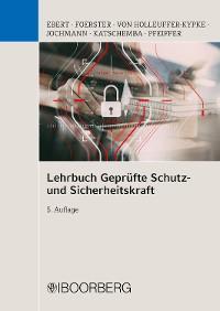 Cover Lehrbuch Geprüfte Schutz- und Sicherheitskraft