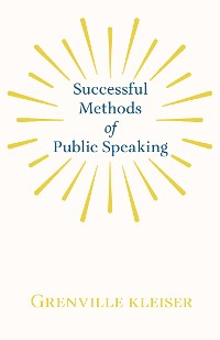 Cover Successful Methods of Public Speaking