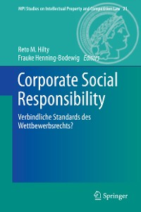 Cover Corporate Social Responsibility