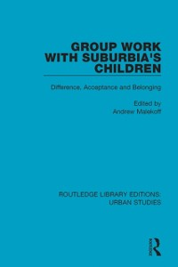 Cover Group Work with Suburbia's Children