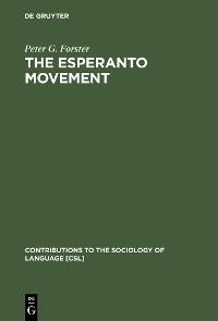 Cover The Esperanto Movement