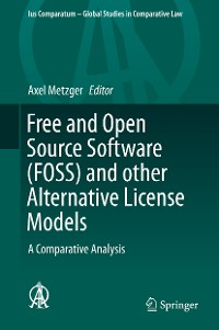 Cover Free and Open Source Software (FOSS) and other Alternative License Models