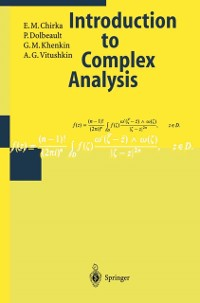 Cover Introduction to Complex Analysis