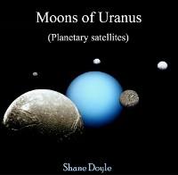 Cover Moons of Uranus (Planetary satellites)