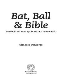Cover Bat, Ball & Bible