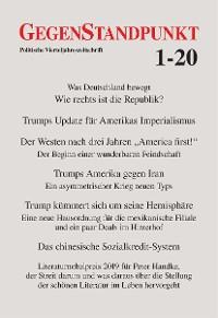 Cover GegenStandpunkt 1-20