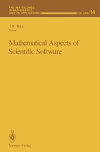 Cover Mathematical Aspects of Scientific Software