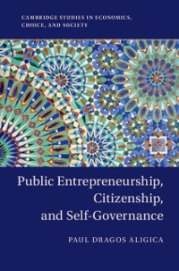 Cover Public Entrepreneurship, Citizenship, and Self-Governance
